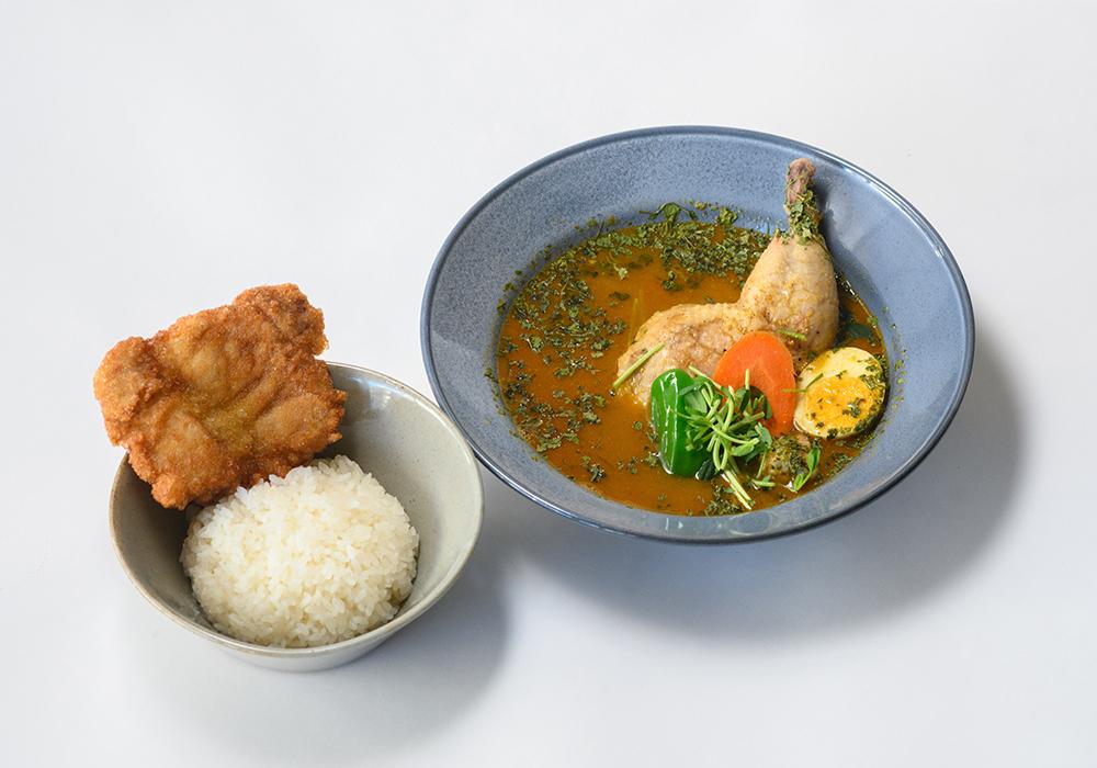 チキンのスープカレー